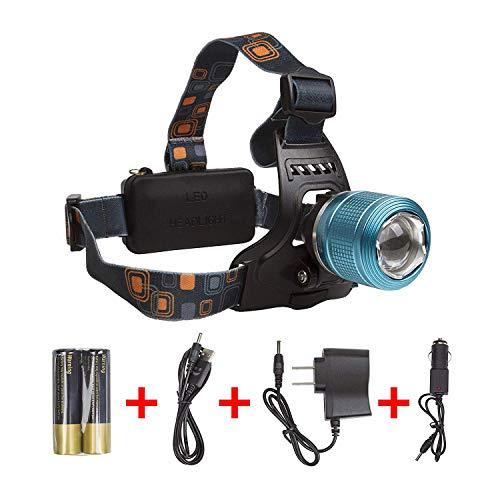 (LIGHTESS Rechargeable LED Headlamp Waterproof Head Flashlight for Running)