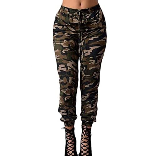 ARRIVE GUIDE Womens Slim Fit Camo Print Drawstring Long Jogger Pant supplier