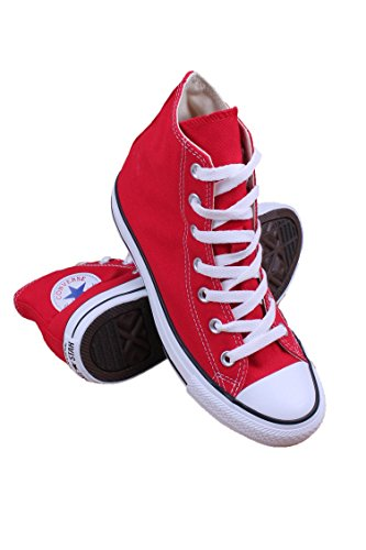 Converse  Chuck Taylor All Star High Top Shoe, Red, 11 M US