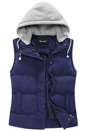 Quilted Puffy Vest - 4