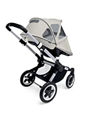 Multifunctional canopy, with dedicated versions for all strollers. The updated fabric (excl. integrated mesh) provides sun protection of UPF 50+, water & oil repellent and highly durable. The fine mesh allows a cool breeze to pass through...