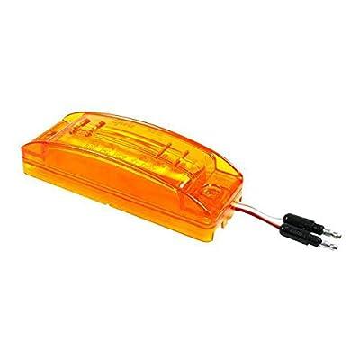 Grote 49393 Yellow SuperNova Sealed Turtleback II LED Clearance Marker Light (ABS, Male Pin): Automotive