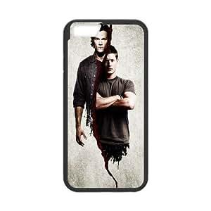 Back Skin Case Shell iPhone 6s Plus 5.5 Inch Cell Phone Case Black aktery kino lyudi sverhestestvennoe supernatural zhared adaleki jared padalecki zhensen kklz jensen ackles Gvton Pattern Hard Case Cover