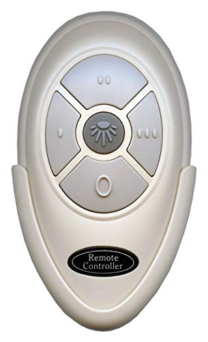 Replacement for Harbor Breeze FAN35T Remote and Wall Mount for Harbor Breeze Ceiling Fans - FAN-35T, FCC ID: L3HFAN35T1
