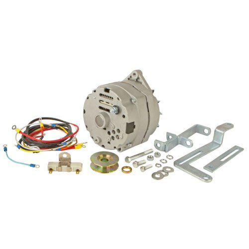 Ford 8n Tractor Alternator - One-Wire 63 amp Alternator Conversion Kit Replacement For Ford 8N Tractor With Side Mount Distributor #263844-Up