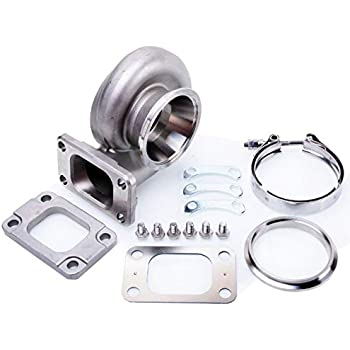 Kinugawa Garrett Stainless Turbine Housing GT2835 GT3071R 56.5mm Trim 84 T25 Inlet A/R.82