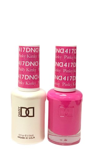DND *Duo Gel*  Spring Set 417 Pinky Kinky
