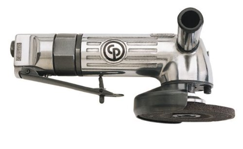 4 Inch Heavy Duty Angle Grinder - Chicago Pneumatic CP854 4-Inch Heavy Duty Air Angle Grinder