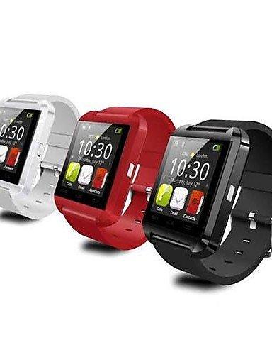 Reloj de pulsera U8 bastantear 3,76 cm de la pantalla táctil inteligente reloj Podómetro