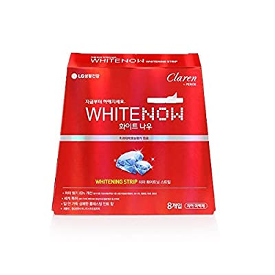 Perioe Claren WhiteNow Strip (8pcs) x 5 pack - Total 40 Treatments of Teeth Whitening Kits