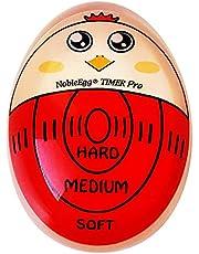NobleEgg Egg Timer Pro | Soft Hard Boiled Egg Timer That Changes Color When Done | No BPA, Certified