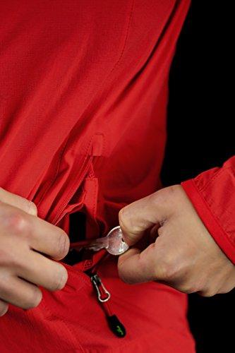 Outdoor Séchage Jeff Élastique Légère Randonnée Green Rapide Lily Tomato Sport Veste Femme 8I8B1