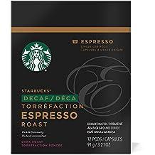 Starbucks Decaf Espresso Roast Espresso Verismo Pods (12 Count)