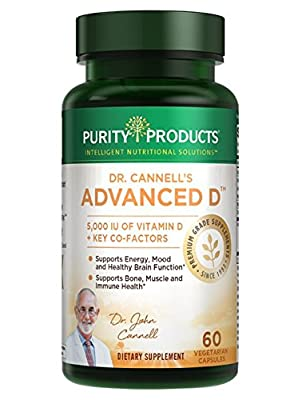 Dr. Cannell's Advanced D - Vitamin D Super Formula - Purity Products