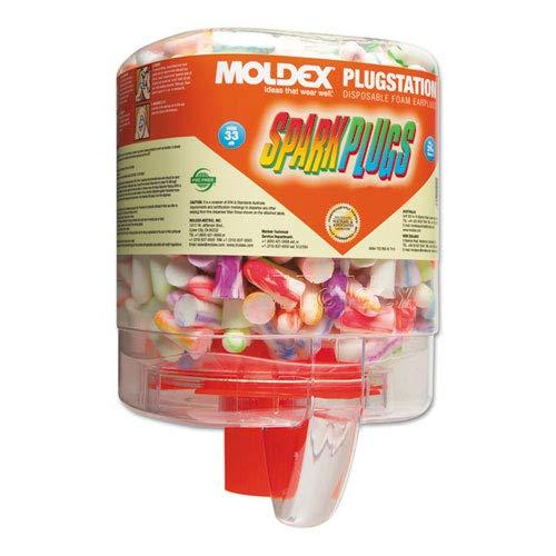 Moldex 6644 PlugStation Ear Plug Dispenser with 250 Pairs
