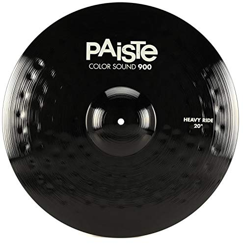 Paiste 20 Inches Color Sound 900 Black Heavy Ride Cymbal by Paiste