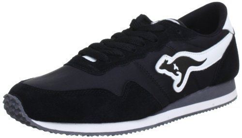 KangaROOS Invader-Basic 47105 Herren Sneaker Schwarz (blk 500)