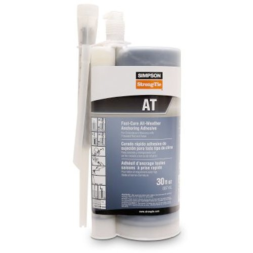 Simpson Strong Tie AT30 30 oz. Acrylic-Tie Anchoring Adhesive Simpson Strong-Tie