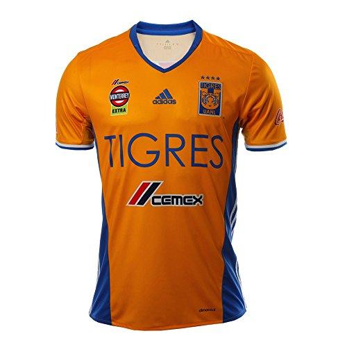 思い出帝国火星adidas Tigres UANL Home Jersey 2016-17/サッカーユニフォーム UANLティグレス ホーム用 (Large)