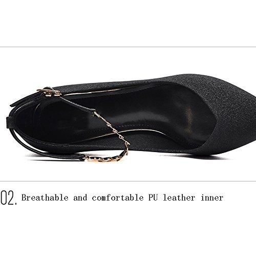 Opcional Opcional Tamaño Mujer B de Color Stiletto 2 Wild Shoes Zapatos Spring GLJXG Heels v7wPPRq