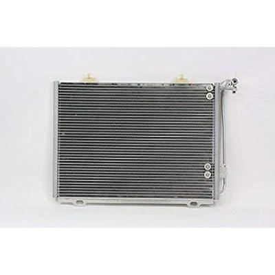 A/C Condenser - Pacific Best Inc For/Fit 4825 98-03 Mercedes-Benz 202 CLK320 3.2L: Automotive