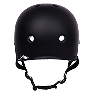 "Critical Cycles Classic Commuter Bike/Skate/Multi-Sport CM-2 Helmet with 11 Vents, Matte Black, Small: 51-55 cm/20""-21.75"""
