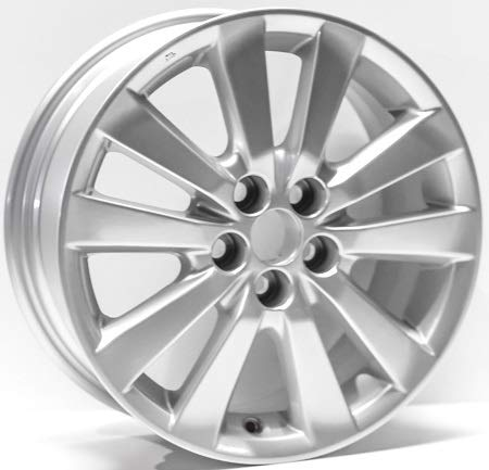 (New 16 inches Replacement Alloy Wheel Rim Compatible with Toyota Corolla 2009-2010)