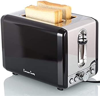 Fortune Candy 2 Slice Stainless Steel Toaster