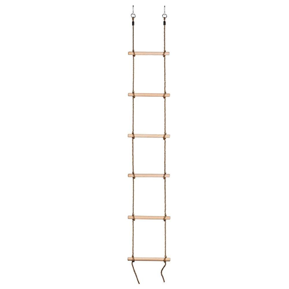 ノーブランドスイングセットClimbing Rope Ladder 6手順8 – 10 ftスイングReady for Yourツリー家簡単にインストールfor Ages 3 & up-megatrade Prime B07D925HVS