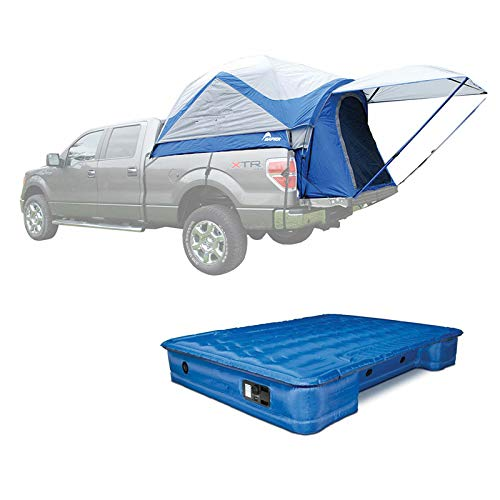 MRT SUPPLY Long Truck Tent, Full & Short Mattress with ()