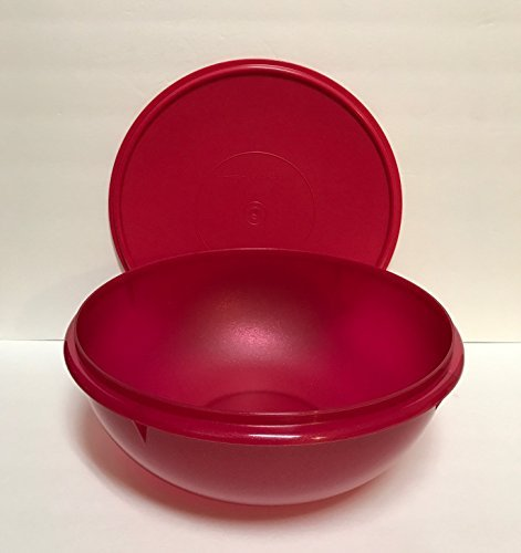 Tupperware Fix 'N Mix Bowl in Holiday Starlight Red