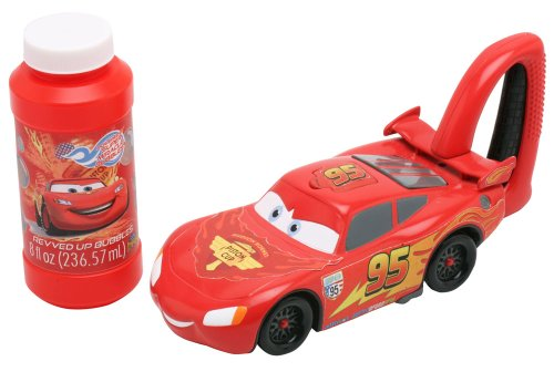 Imperial Toy Cars Bubble Blowing McQueen, Red