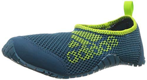 adidas outdoor Unisex KUROBE K, Real Teal/Petrol Night/Solar Slime, 2 Medium Youth US Big Kid