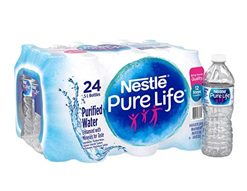 (Nestle(R) Pure Life(TM) Purified Bottled Water, 16.9 Oz., Case Of 24)