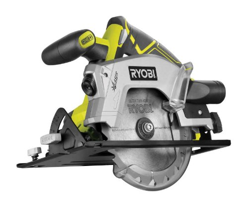 Ryobi RWSL1801M ONE+ Circular Saw, 18 V (Body Only) - Green/Grey
