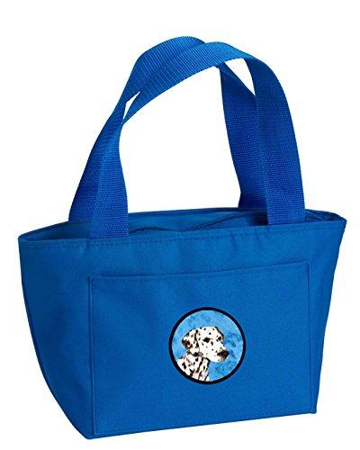 (Caroline's Treasures SS4745-BU Dalmatian Lunch or Doggie Bag, Large,)