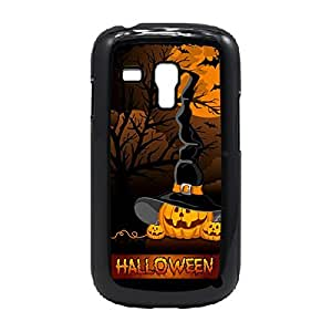 Case Fun Case Fun Halloween Pumpkin Witch Snap-on Hard Back Case Cover for Samsung GalaxyS3 Mini (I8190)