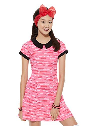The Powerpuff Girls Blossom Cosplay Dress (Small) (Powerpuff Girls Sexy)