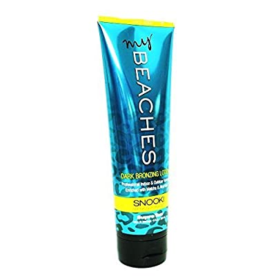 Supre SNOOKI MY BEACHES Dark Bronzing Lotion - 9 oz.
