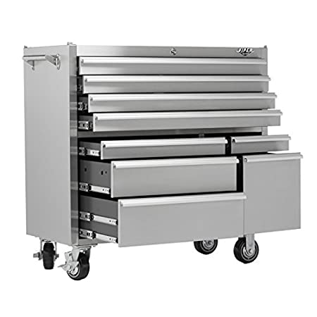 Viper Tool Storage V4109Ssr 41-Inch 9-Drawer 304 Stainless Steel Rollaway Cabinet  sc 1 st  Amazon UK & Viper Tool Storage V4109Ssr 41-Inch 9-Drawer 304 Stainless Steel ...