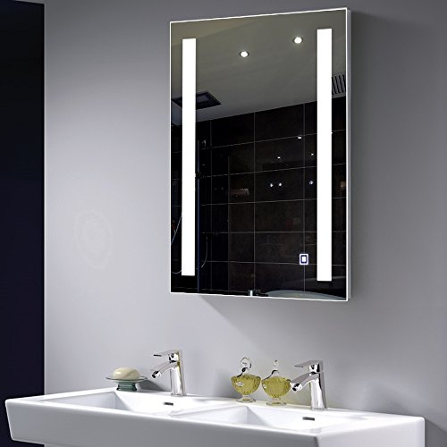 Top 10 best led backlit vanity mirrors reviews 2017 2018 - Commercial grade bathroom exhaust fans ...