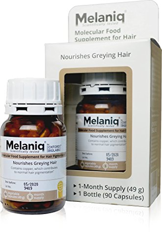 Melaniq Food Supplement for Hair Pigmentation