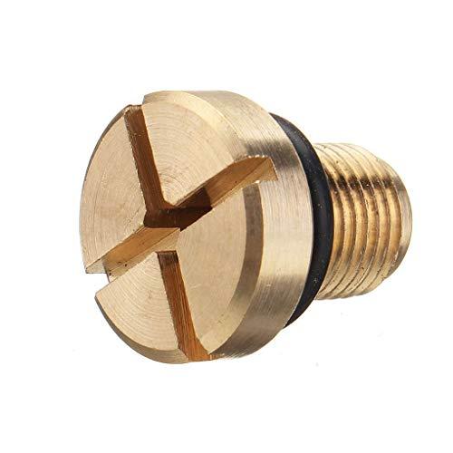 Vent Direct Brass (Beaums Radiator Hose Bleed Vent Screws Plug Bleeding Compatible for BMW 3 Series E30 E36 E46 Mini 17111712788)