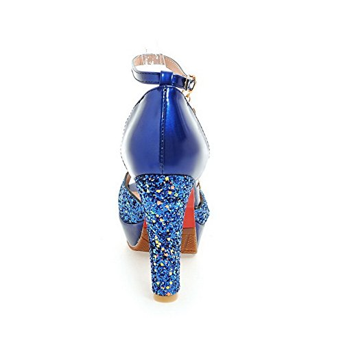 Urethansandalen Leichte verziertes AN Womens DIU00828 Kleid Blau vOnAW0cWP