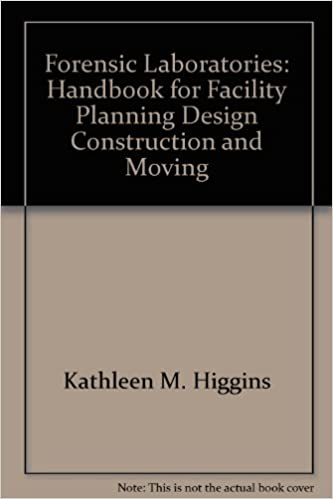 Forensic Laboratories Handbook For Facility Planning Design Construction And Moving 9780788176241 Amazon Com Books