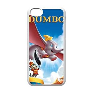 Dumbo Image On The iPhone 5c White Cell Phone Case AMW896367