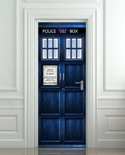 Doctor Who Tardis Wall/Door Sticker