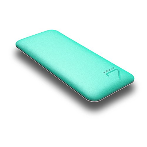 PURIDEA S4 6600mAh 2.4A Output Portable Charger, Dual USB Power Bank External Battery Backup Pack (1.5A Input Li-polymer Battery Banks) for Apple iPhone 5 6 Plus Samsung HTC Nokia LG - Li Pack De
