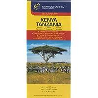 Carte Cartographia Kenya, Tanzanie