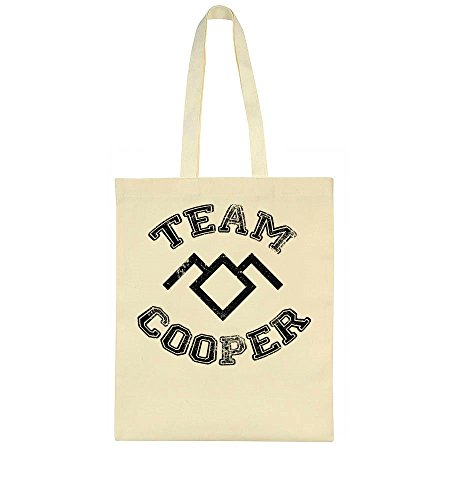 Style Team Cooper Logo Bag Tote School High UwHqPwpnfx